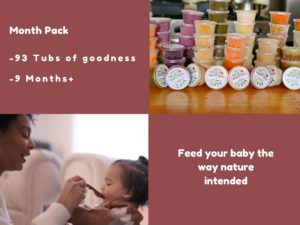 picture of baby food month pack organic keedz