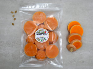 picture of baby food, bulk packs, butternut puree